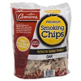 Wood Smoker Chips - 100% All Natural Coarse Wood Smoking and Barbeque 2lb