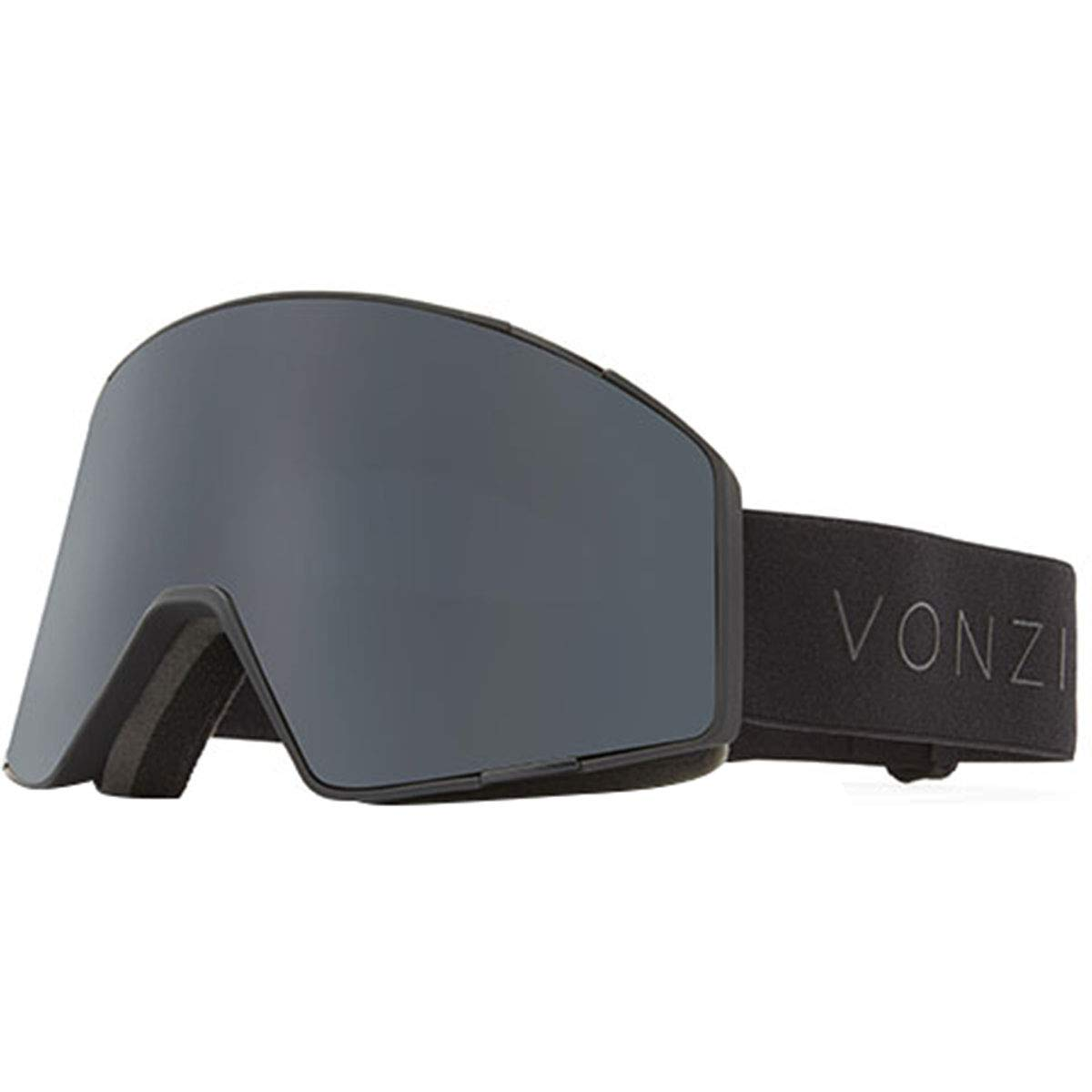 VonZipper Capsule Adult Snowmobile Goggles - Black Satin/Wild Blackout/One Size