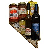 Nevada Shaped Italian Night Basket