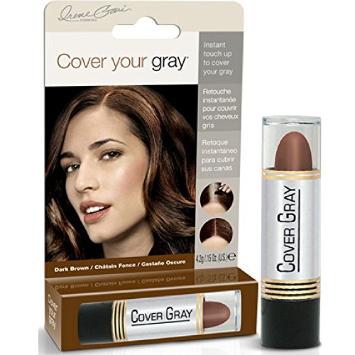 [Cover Your Gray for Women Touch Up Stick, Dark Brown, 0.15 oz (Pack of 6)] (Gray Stick)