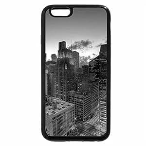 iPhone 6S Plus Case, iPhone 6 Plus Case (Black & White) - Houston