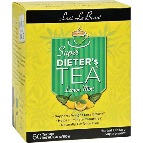 Super Dieter's Tea Lemon Mint 60 Bag(S) ()