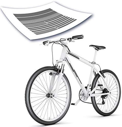 Fahrrad flu Kasiqi Reflektierender Aufkleber für Mountainbike Sicherheit
