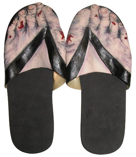 Billy-Bob Zombie Feet Sandals - Slippers (Large)