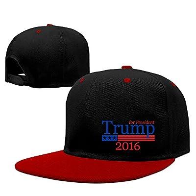 Unisex LunaCp Trump Snapback Caps Red