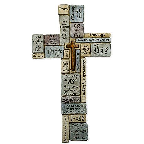 Christians Words Saying Crossword Stoneware