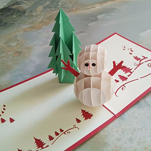 1pc 3d pop up handmade christmas snow man happy new year greeting 1pc 3d pop up handmade christmas snow man happy new year greeting card buy online in oman bestbuyproduct stationary products in oman see prices m4hsunfo
