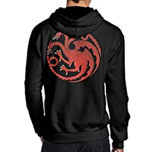 Men Game Of Thrones House Targaryen Pullover Crazy Back Prints Best Hoodie