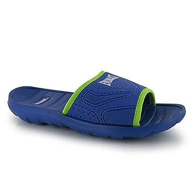 Everlast Kids Childrens Pool Shoes Boys Water Swimming Shower Beach Sandals  Blue/Green UK 1