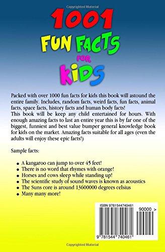 7041c514f018 1001 Fun Facts For Kids!: JB Books Ltd: 9781544740461: Amazon.com: Books