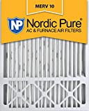 hvac filter 20x25x5 - Nordic Pure 20x25x5 (4-3/8 Actual Depth) Lennox X6673 Replacement MERV 10 Pleated AC Furnace Air Filter, Box of 1