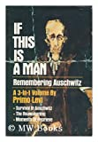 Front cover for the book If This Is a Man. Remembering Auschwitz by Primo Levi