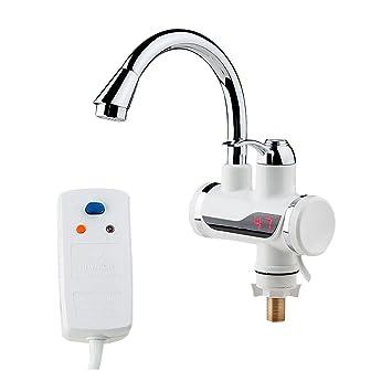 PLYY Grifo de Agua Caliente Instantánea Calentador de Agua Instantáneo Grifo de Cocina Grifo de Agua