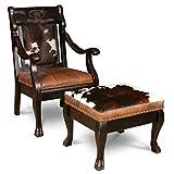 Cheap Country Road's Dakota Bandit Chair And Ottoman
