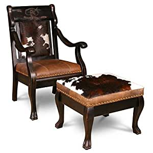 Country Road's Dakota Bandit Chair And Ottoman