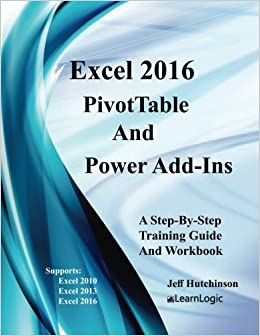 amazon com excel 2016 pivottables and powerpivot supports excel