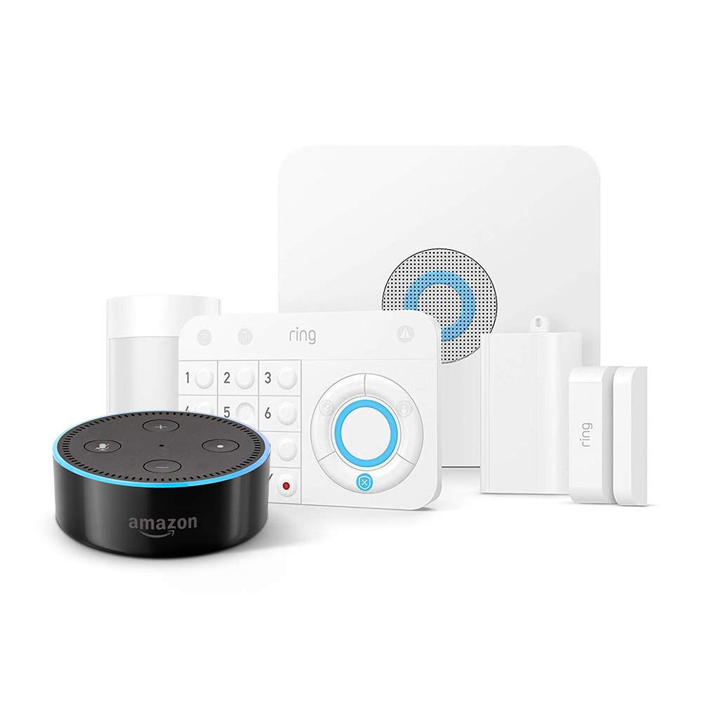 Ring Alarm 5-Piece Kit + Echo.