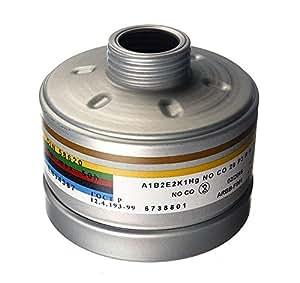 Dräger filtro de combinación a1b2e2K1hgnop3rd/co20p3rd con DIN/EN rosca