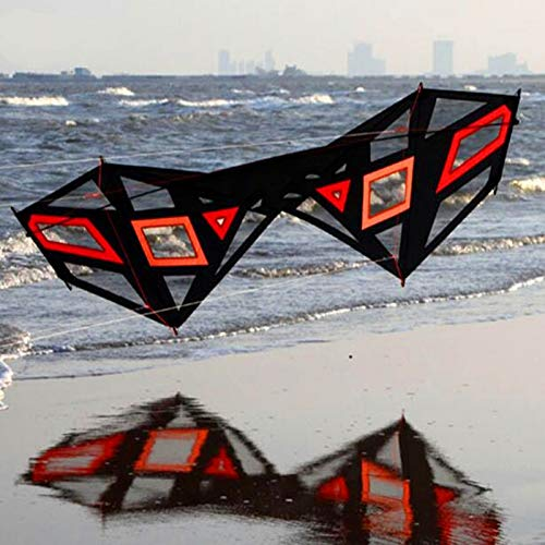 WANGCHAOLI Kite 2.4m Strong Wind Quad line Stunt Kite Design with Handle line Easy Control Power Kite parafoil Buggy