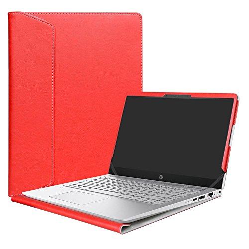 Alapmk Protective Case Cover For 14 HP Pavilion 14 14-bfXXX 14-ceXXX/Pavilion x360 14 14-cdXXX 14M-cdXXX Sereis Laptop(Not fit Pavilion 14 14-bkXXX 14-bXXX/Pavilion 14 x 360 14-baXXX),Red