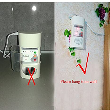 ATWFS Air Ozonizer Air Purifier For Home Air Fresher & Deodorizer Ozone Ionizer Generator Sterilization Germicidal Filter Disinfection Clean Room: ...