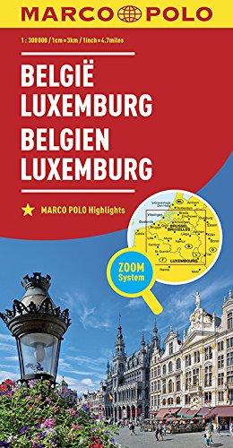 MARCO POLO Länderkarte Belgien, Luxemburg 1:300 000 (MARCO POLO Länderkarten) (Niederländisch) Landkarte – 27. Dezember 2016 Collectif MAIRDUMONT 3829738218 Karten / Stadtpläne / Europa