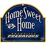 NHL Nashville Predators 10-by-11 Arch Wood Sign