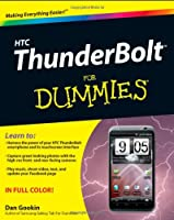 HTC ThunderBolt For Dummies Front Cover