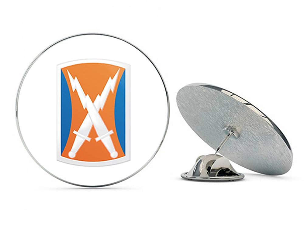 Veteran Pins アメリカ陸軍 106th シグナル ブリゲード パッチ メタル 0.75インチ ラペルハット ピン タイタック ピンバック B07J1ZV7LV