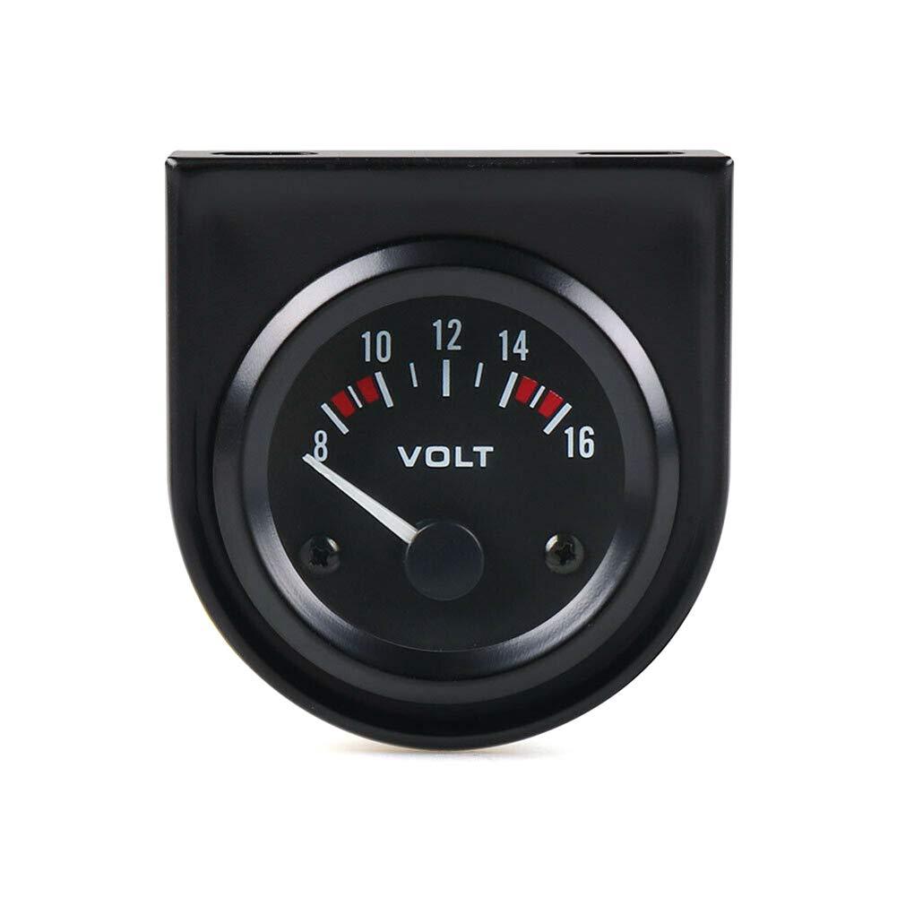 analogico strumento di modifica meccanico Ggaggaa 12 V voltmetro per auto LED