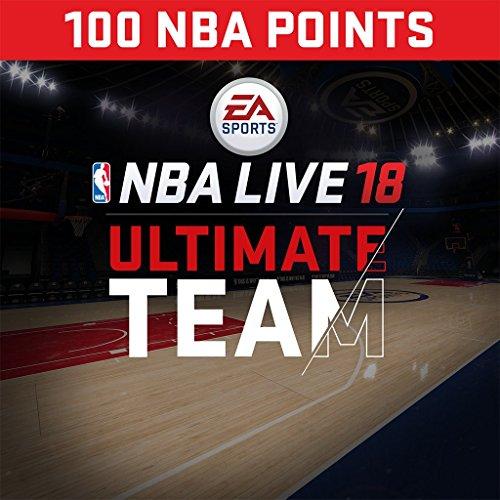 NBA Live 18: NBA18 - 100 NUT Points Pack - PS4 [Digital Code]