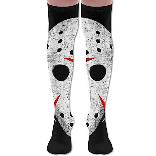 Horror Movie Maniac Unisex Knee High Long Socks Boot High Socks Length 60cm -