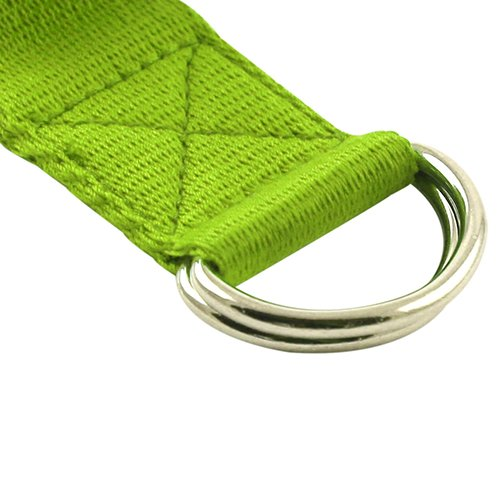 Fit Spirit 8ft Fitness Exercise Yoga Strap - Green
