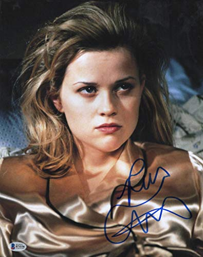 REESE WITHERSPOON SIGNED 11X14 PHOTO AMERICAN PSYCHO AUTOGRAPH BECKETT - Reese Witherspoon Signed