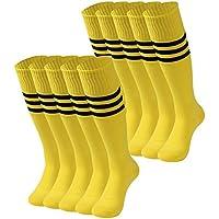 Tube Socks Stripe, saounisi Unisex Knee High Football...