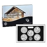 2015 United States Mint America the Beautiful Quarters Silver Proof SetTM (Q5H) OGP