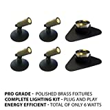 Patriot Brass LED Waterproof Pond and Landscape Lighting 6 Watt Light Kit P-D1