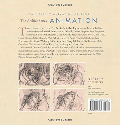 Animation (Walt Disney Animation Archives): Amazon co uk: Disney: Books