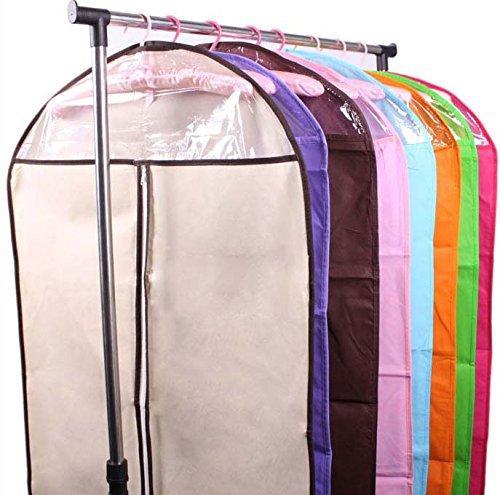 Clothes Storage Bag Dustproof Cover Garment Bags 2pcs, Color