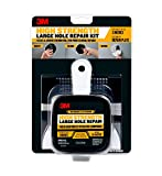 3M - FPP-KIT Large Hole Wall Repair Kit with 12 fl. oz Compound,  Self-Adhesive Back Plate, Putty Knife and Sanding Pad