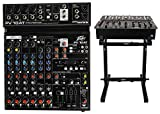 Peavey PV 10AT PV10AT Mixer,Bluetooth/USB,Compressor/Effects+AutoTune + Stand