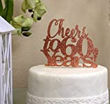 All About Details Copper Cheers to 60 Years! Cake Topper