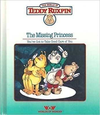 Book and Tape Teddy Ruxpin Summertime Teddy Ruxpin