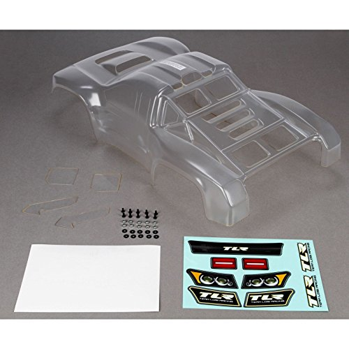 Short Course Body - Team Losi Racing Hi Performance Body, Clear, Precut: 22SCT/2.0/SCTE, TLR8061