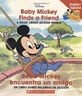Baby Mickey Finds A Friend / Bebé Mickey encuentra un amigo (Disney Bil) (
