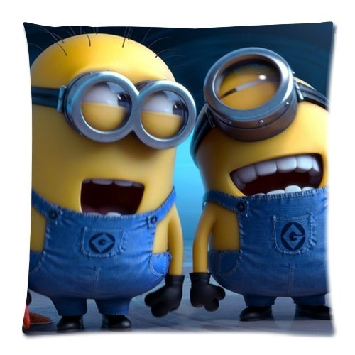 DiyCaseStore Funny Cute Despicable Me Minions Pillowcases Covers Standard Size 18x18 (Twin (Home Made Hulk Costumes)