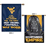West Virginia Mountaineers Official NCAA Flag Banner 28x40 by Wincraft 322012