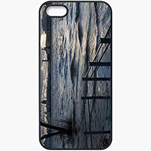Protective Case Back Cover For iPhone 5 5S Case Nature Beautiful Very Black