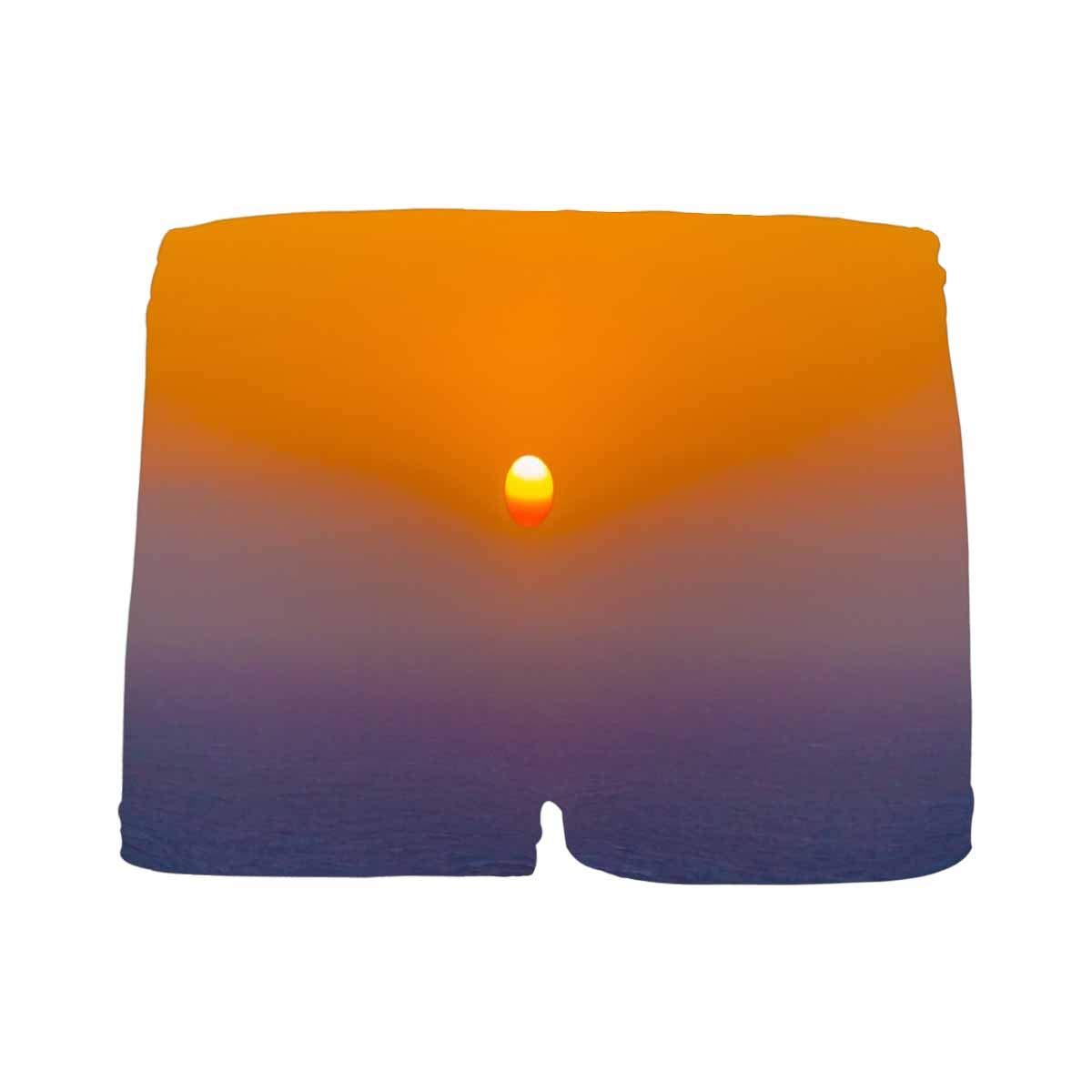 INTERESTPRINT Boys Santorini Sunset All Over Print Boxer Briefs 5T-2XL