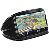 Cell Phone Holder for Car,GPS Mounts for car,Slim Dashboard Car Phone Mount for iPhone X 8 Plus 7 6s,Samsung Galaxy S9 S8 Edge S7 S6 Note 8 LG&Other Smartphone Garmin GPS,W/Reusable Silicone Pad Base